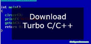 Turbo C++ Download For Windows 7,8,10 32/64-bit Full Screen