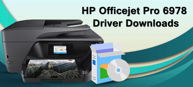 HP OfficeJet Pro 6978 Driver Download All-in-One Printer