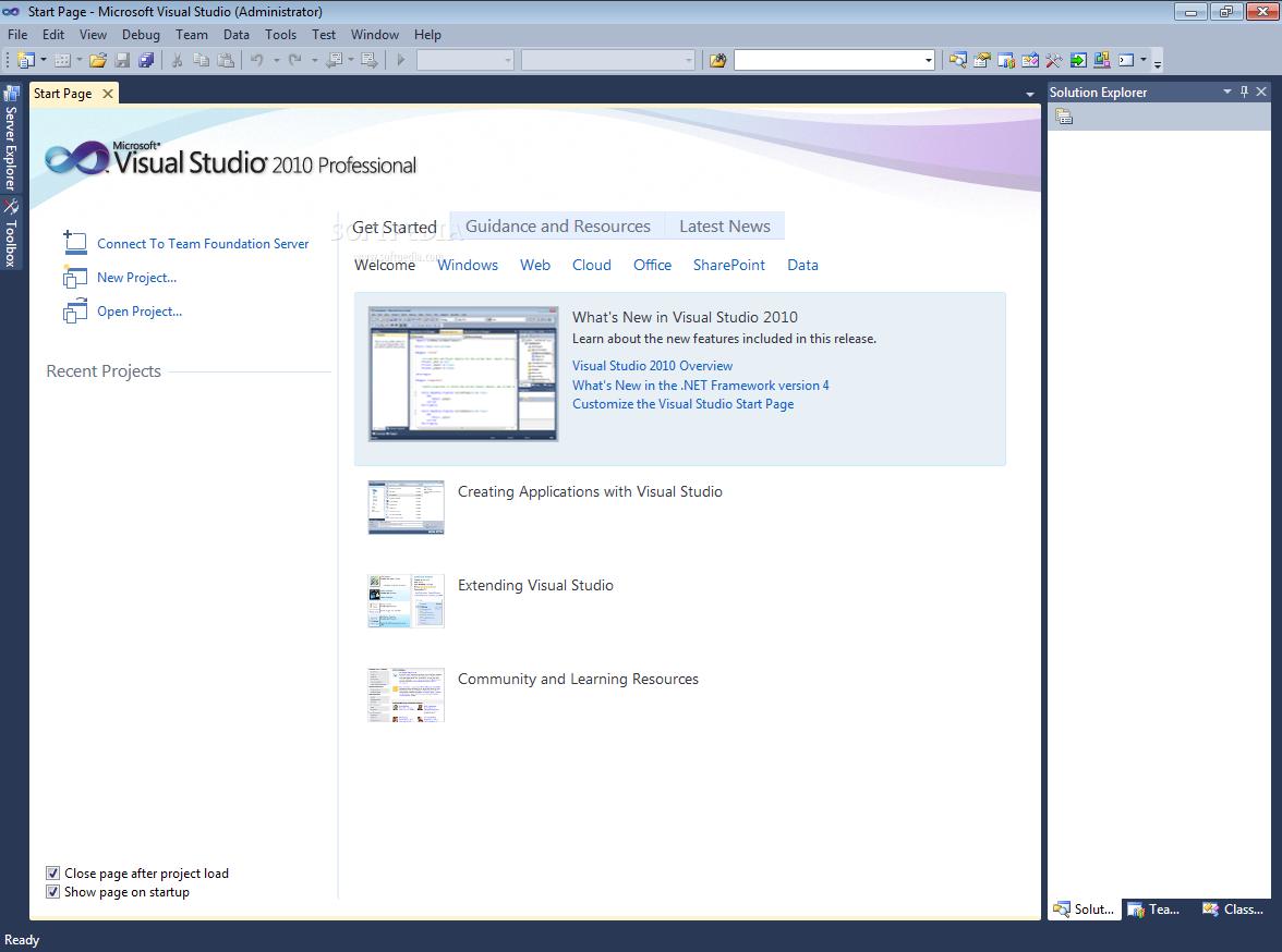 Microsoft Visual Studio Professional free download.