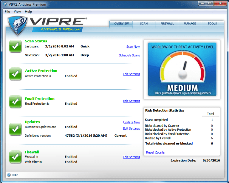 VIPRE Antivirus Plus Download (2020 Latest) for Windows 10 ...