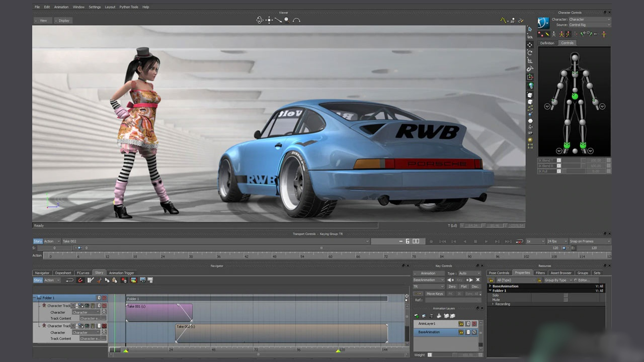 Autodesk MotionBuilder 2020 Free Download