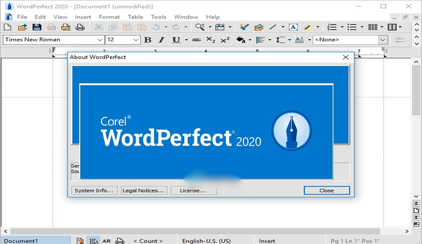 Free Download Corel WordPerfect Office Professional / Standard 2020 v20.0.0.200 Full Version