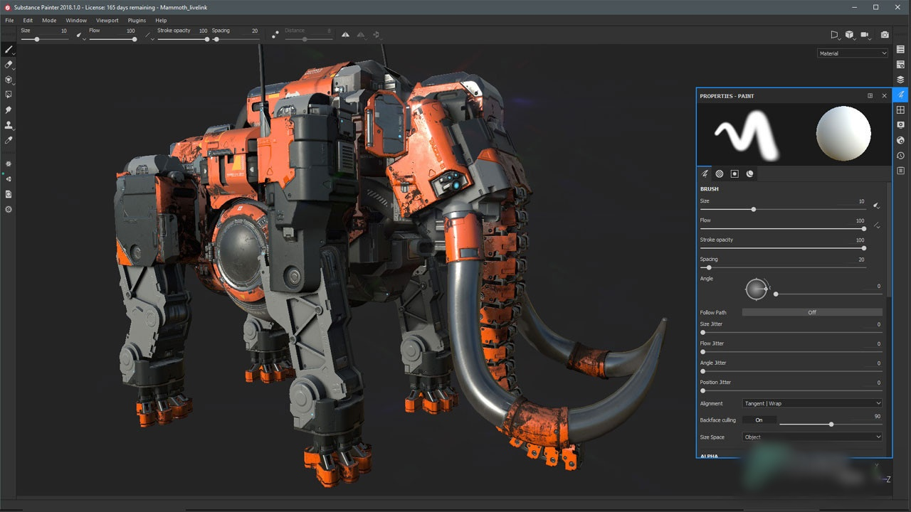Free Download Allegorithmic Substance Painter 2020 v6.1.0.6 Full Version Offline Installer
