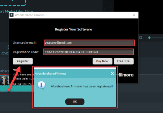 Filmora 9 Registration Code + License Key and Email 2020